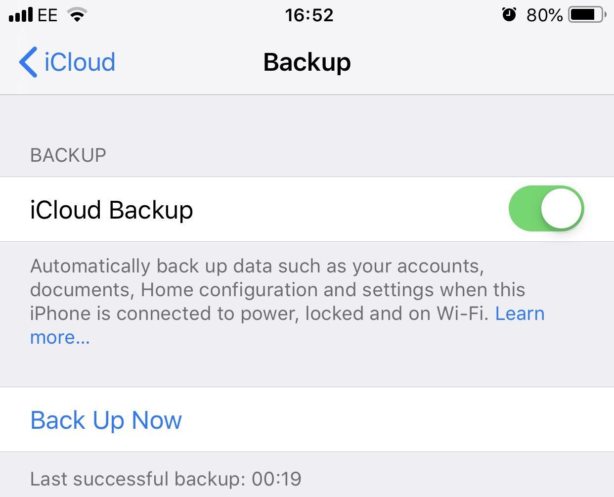 iphone icloud backup 2