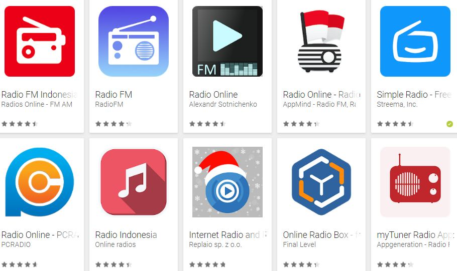 The Most Popular Broadcasting (Radio) Application for Android Phones