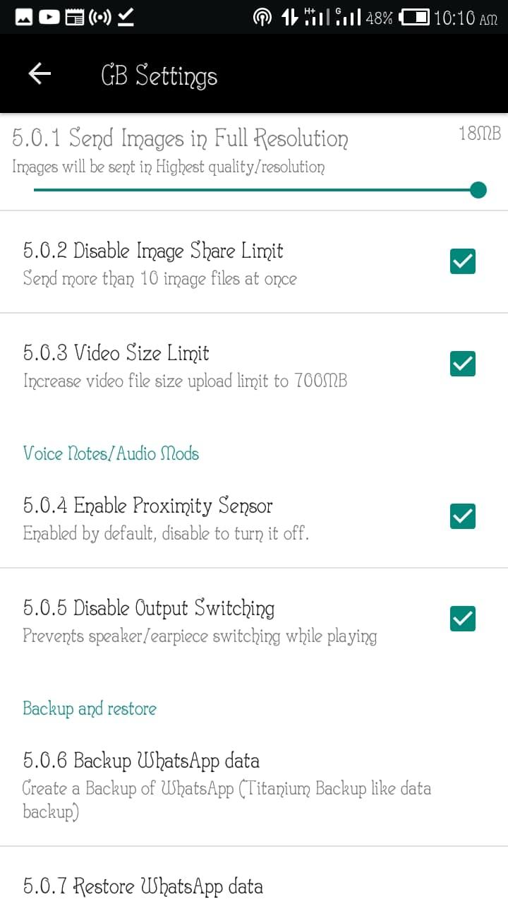 New WhatsApp Plus, GB WhatsApp and OG WhatsApp Other Mods