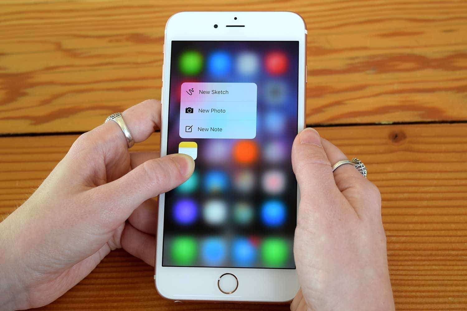3D Touch Apps and Games