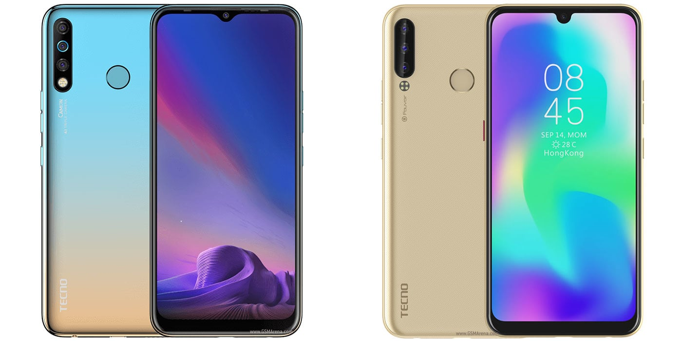Tecno Camon 12 vs Tecno Pouvior 3 Plus