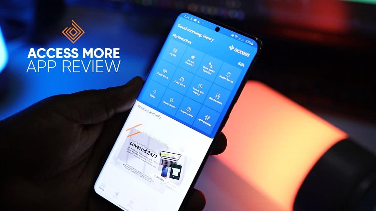 Access (Diamond) Bank Mobile App access more app
